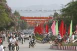 Điện Biên rực rỡ sắc đỏ trước đại lễ