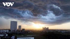 Dự báo thời tiết hôm nay 27/9: Bắc Bộ tiếp tục mưa dông diện rộng