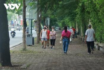 Hà Nội cho phép tập thể dục, thể thao ngoài trời; trung tâm thương mại được mở cửa từ 28/9