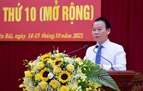 Khai mạc Hội nghị Ban Chấp hành Đảng bộ tỉnh  lần thứ 10 (mở rộng)