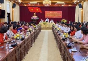 Gặp mặt nữ lãnh đạo nhân dịp kỷ niệm 91 năm ngày thành lập Hội LHPN Việt Nam