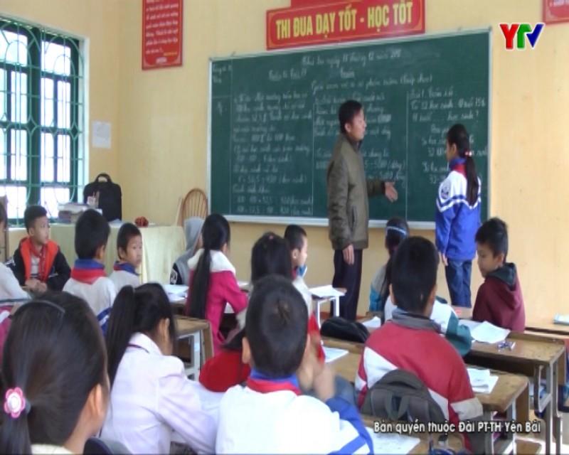 Trường TH và THCS Tân Đồng thi đua dạy tốt, học tốt