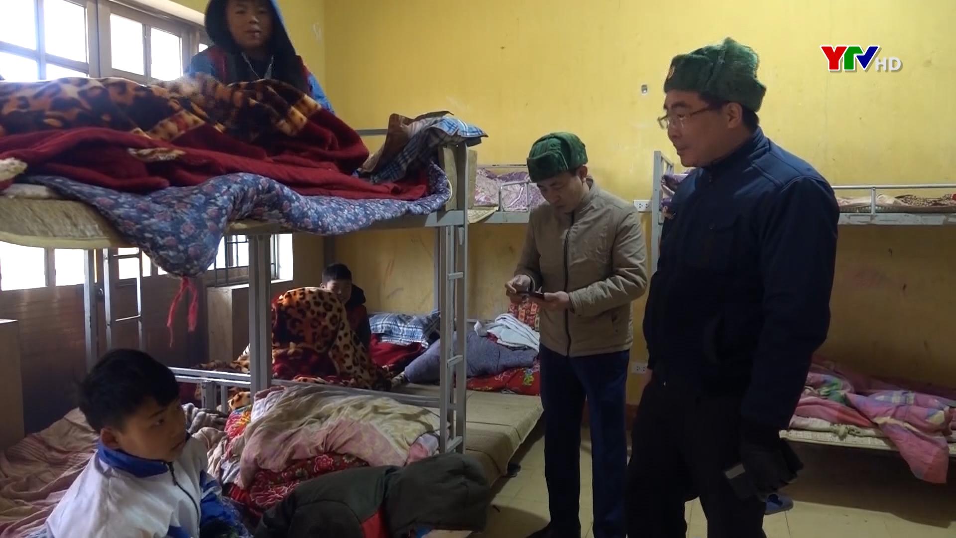 Huyện Mù Cang Chải tăng cường các biện pháp phòng chống rét đậm, rét hại