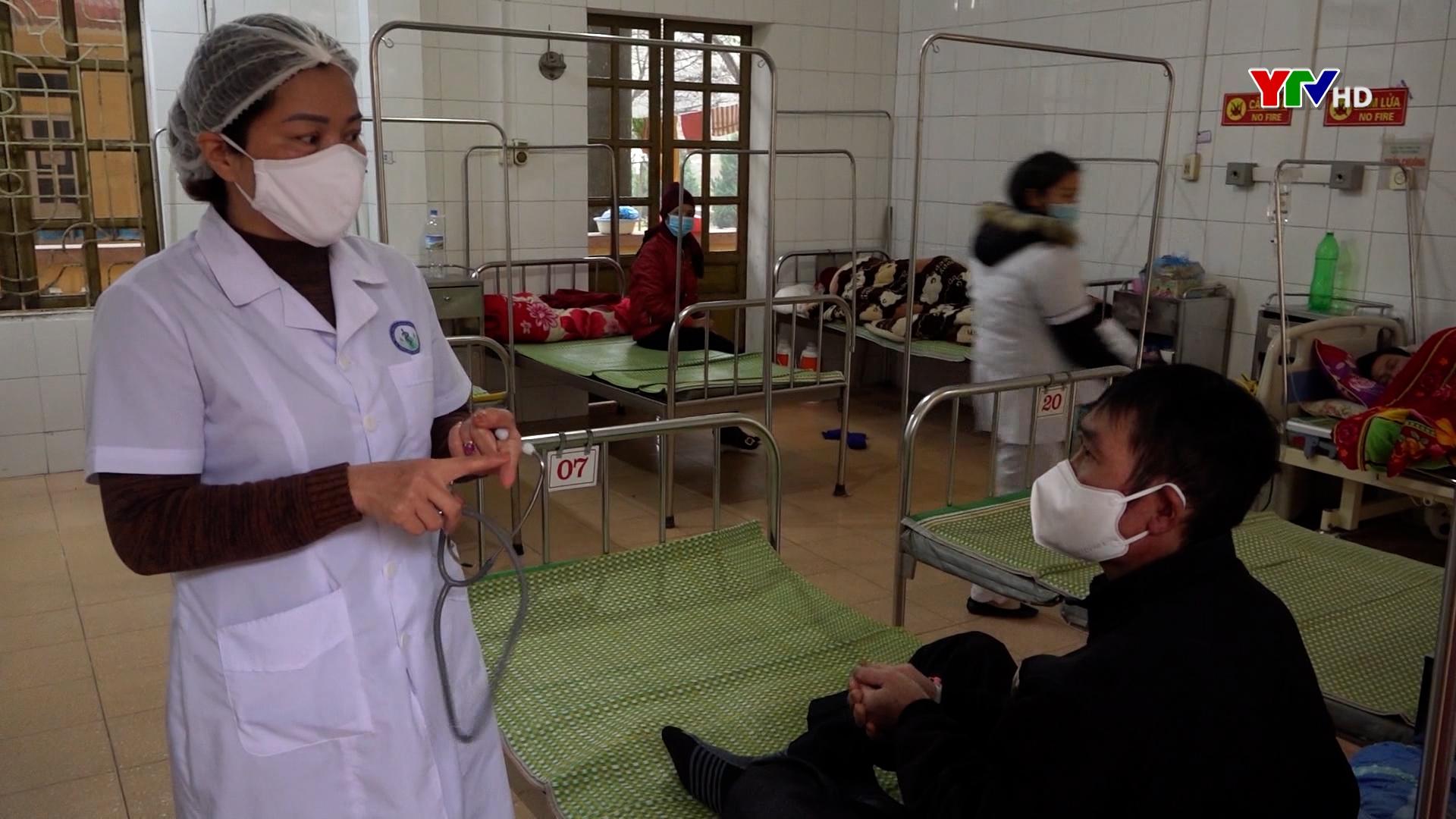 Văn Chấn: Bệnh nhân nhập viện gia tăng do rét đậm, rét hại