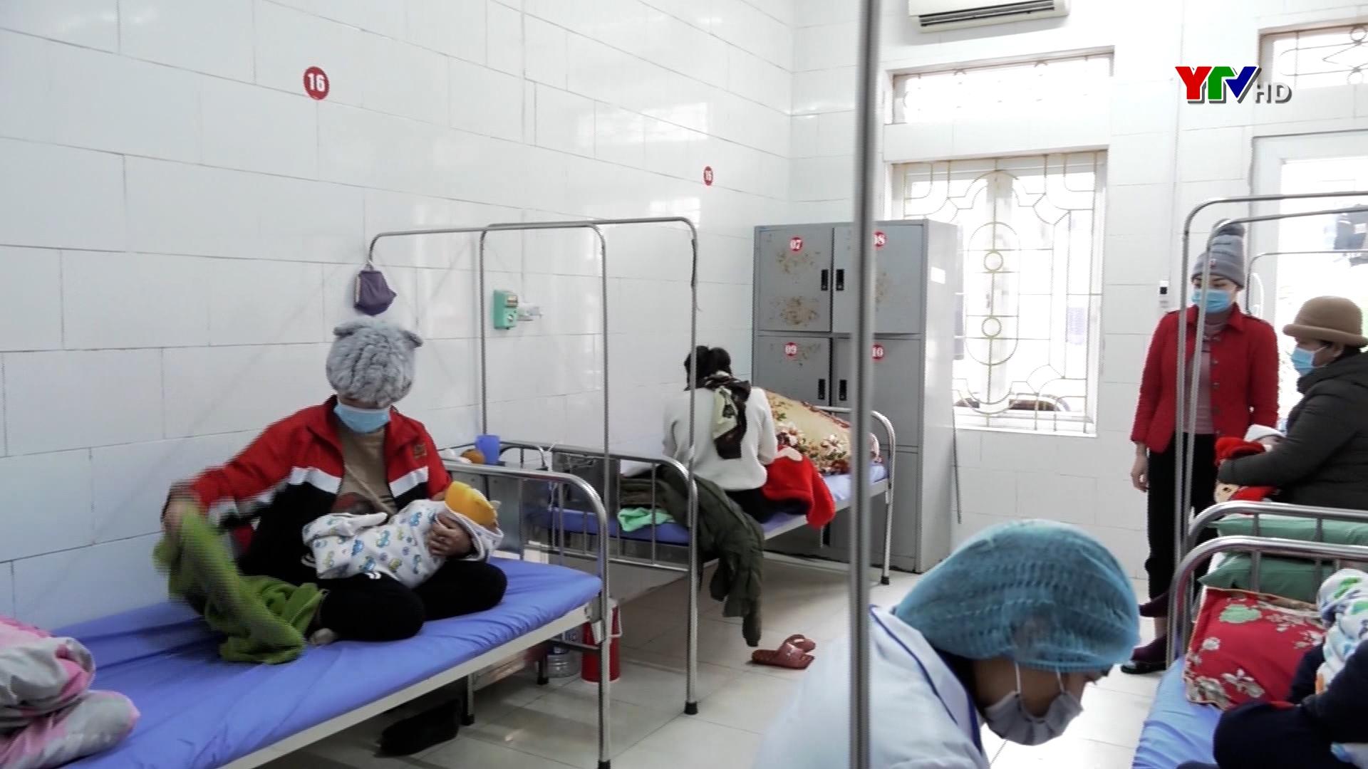 Các bệnh viện đảm bảo giữ ấm cho bệnh nhân