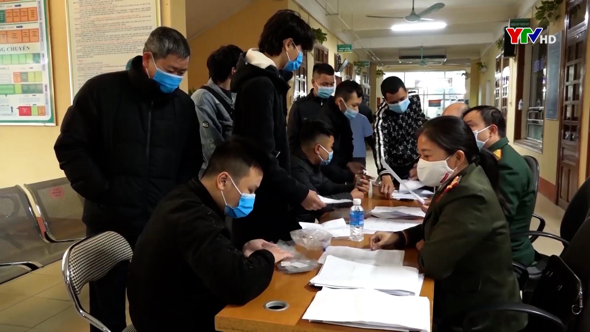 Thị xã Nghĩa Lộ nâng cao chất lượng tuyển quân