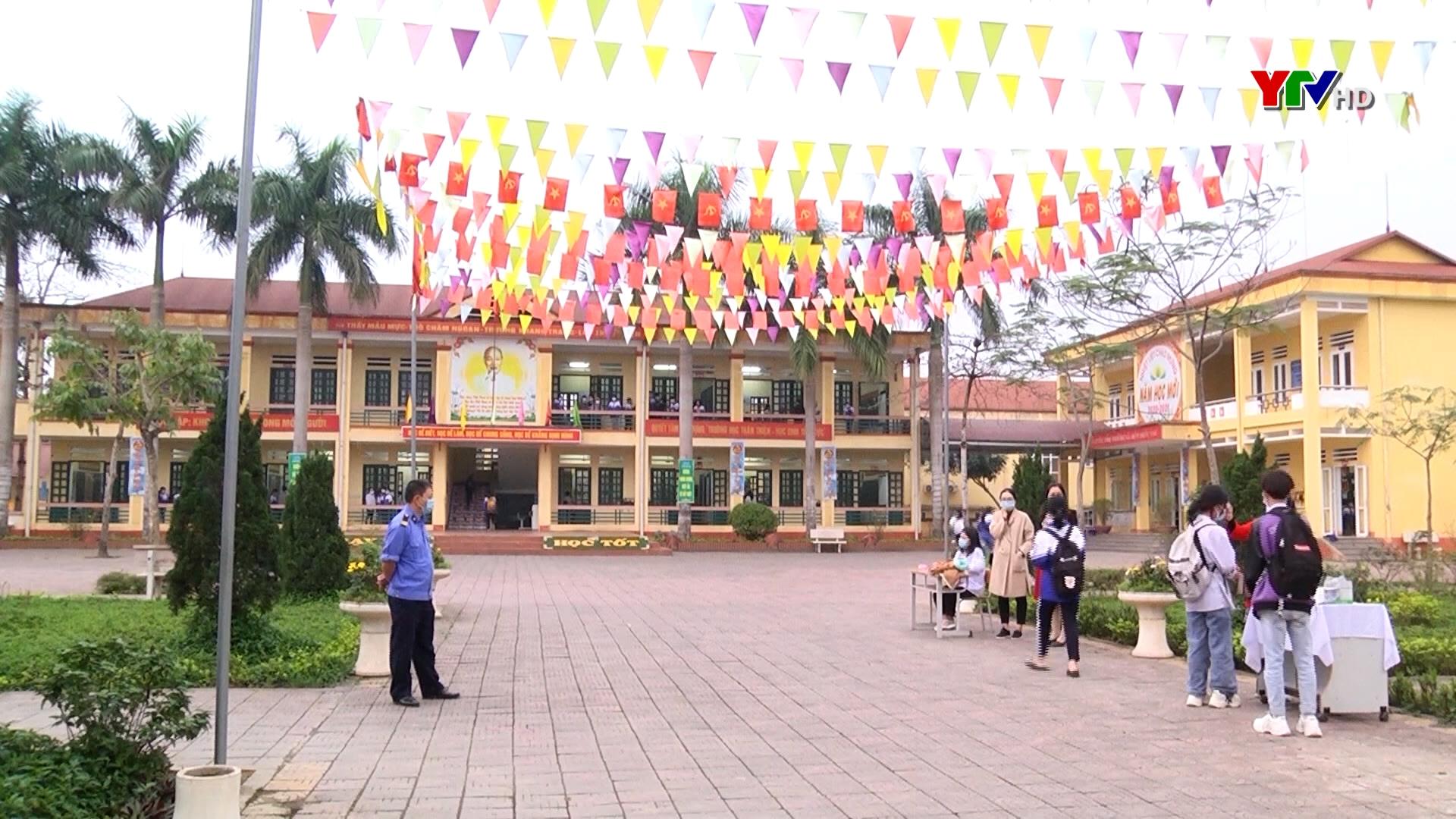 Các trường học đảm bảo an toàn phòng, chống dịch COVID – 19