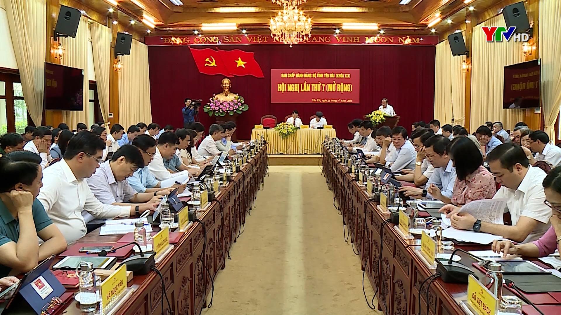Hội nghị lần thứ 7 - Ban Chấp hành Đảng bộ tỉnh khóa XIX