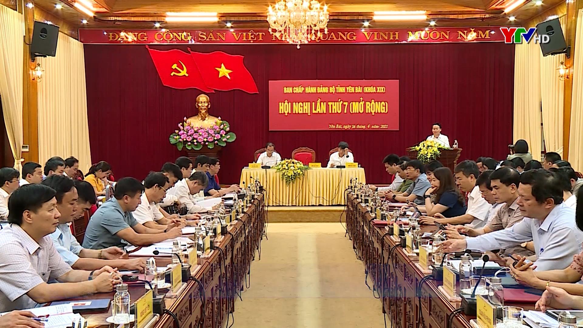 Hội nghị Ban Chấp hành Đảng bộ tỉnh lần thứ 7 hoàn thành các nội dung, chương trình