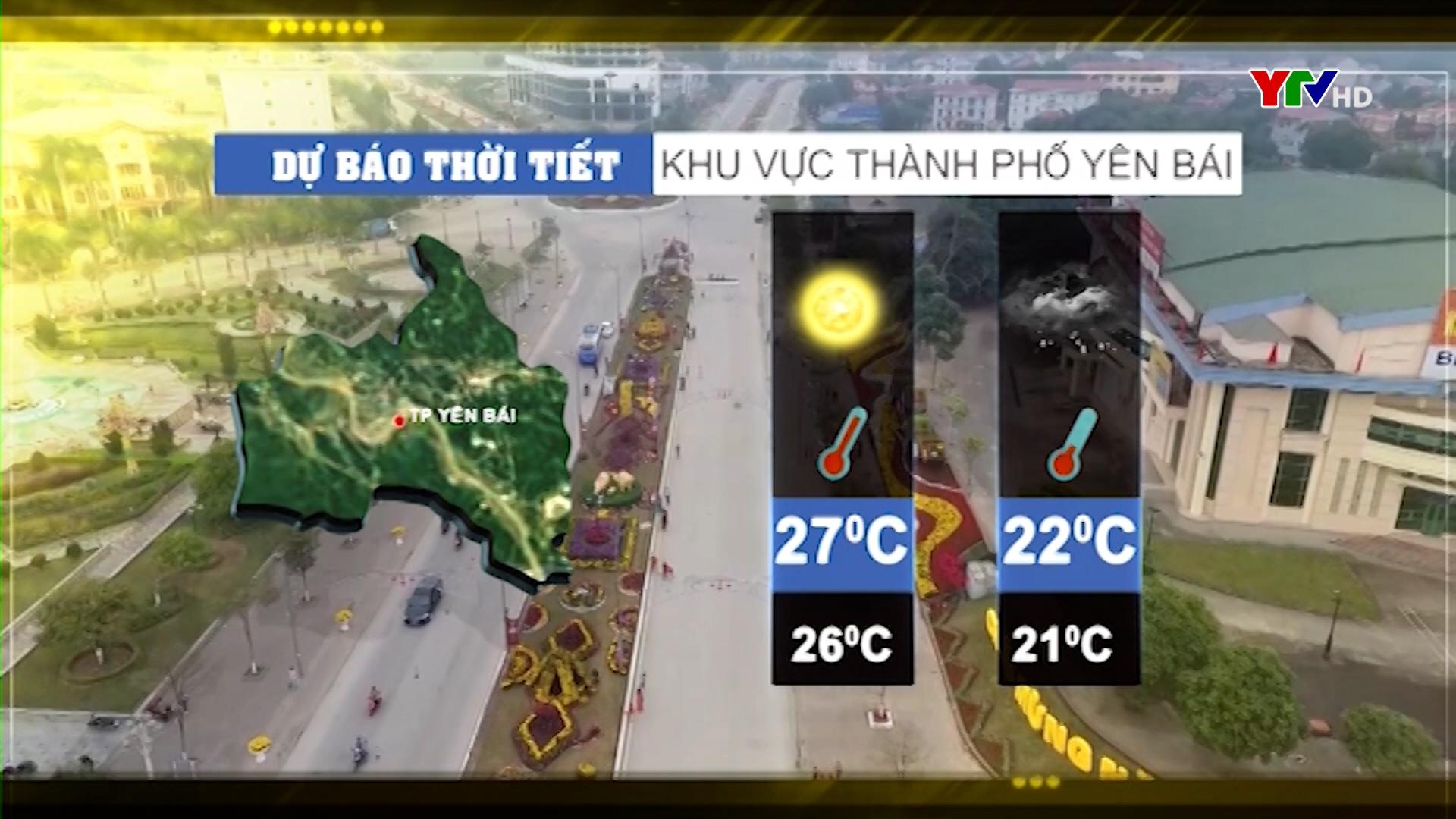 Dự báo thời tiết ngày 18 tháng 4 năm 2021