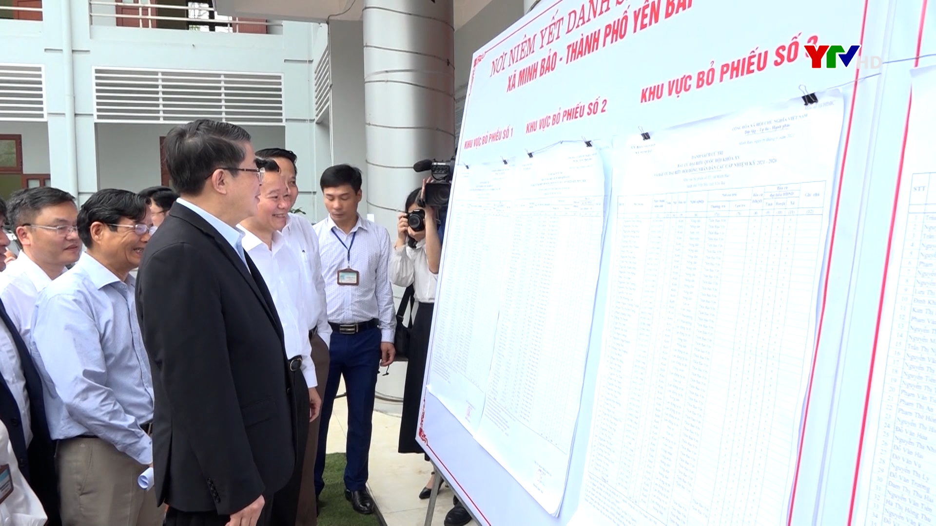 Tỉnh Yên Bái ấn định 1.154 khu vực bỏ phiếu bầu cử