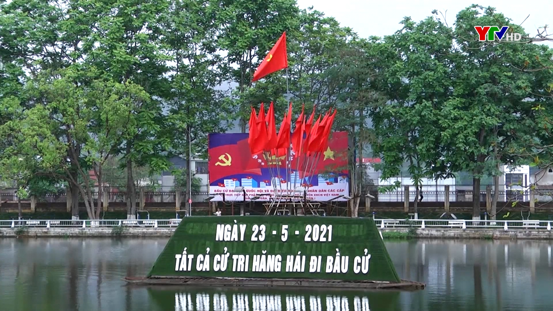 """Văn Yên với phong trào thi đua """"đi bầu đủ, đi bầu sớm"""""""