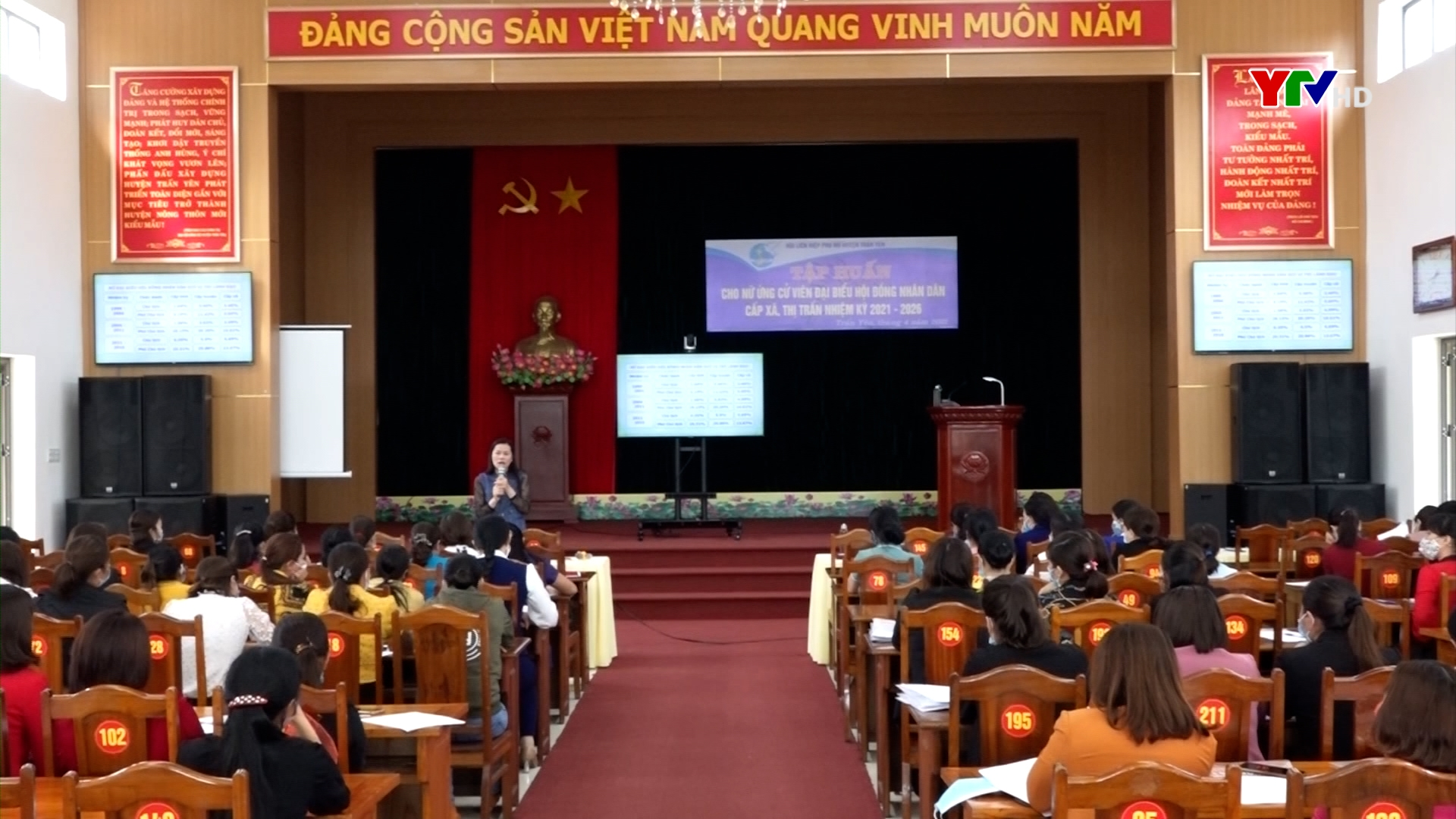 Trấn Yên: Tập huấn cho đại biểu nữ tham gia ứng cử đại biểu HĐND cấp xã, thị trấn