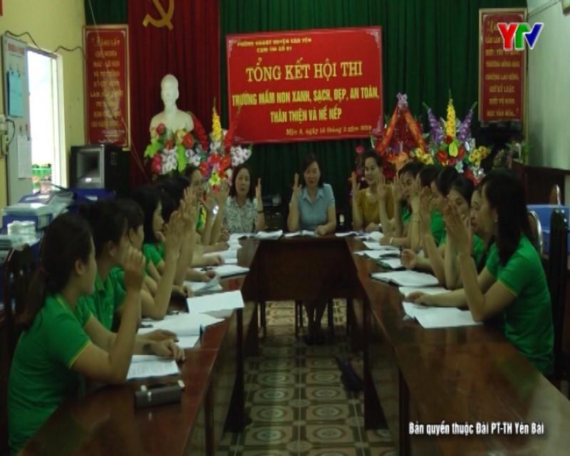 Văn Yên tăng cường vai trò của Đảng trong các nhà trường