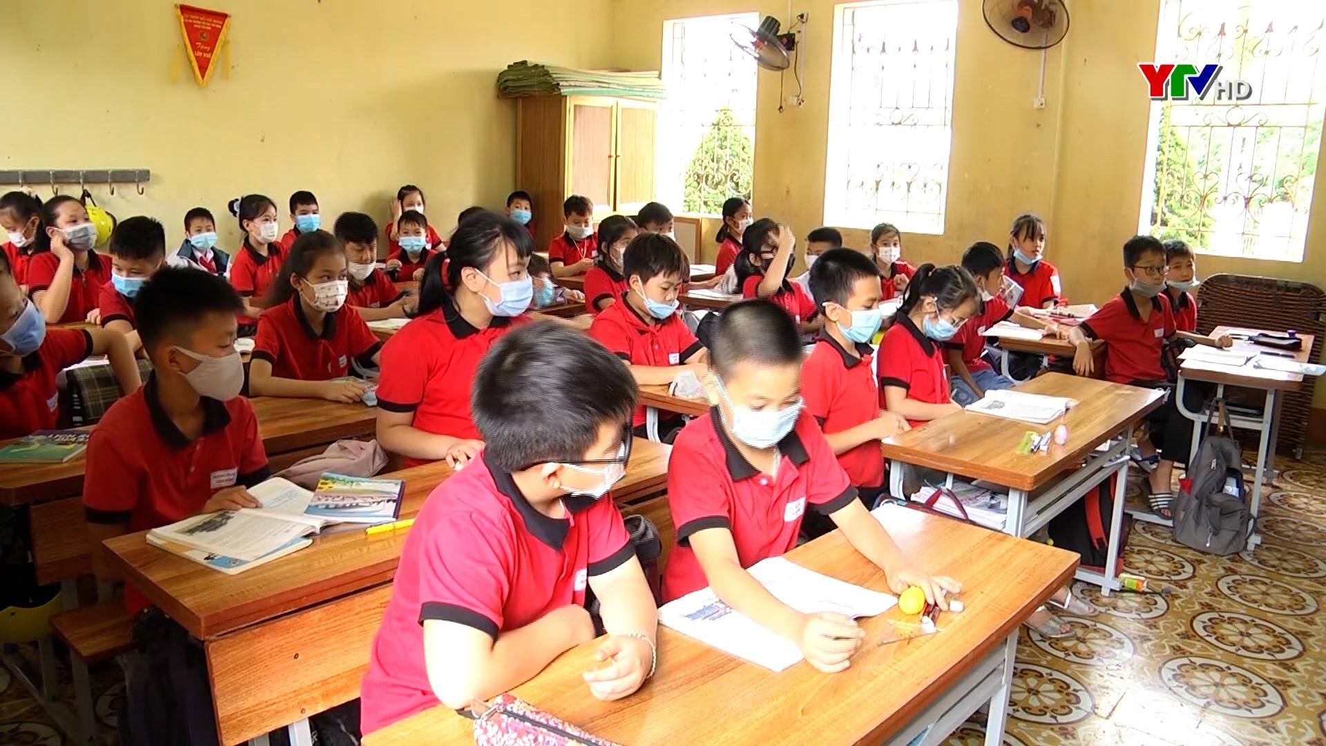 90% học sinh của huyện Yên Bình tham gia BHYT