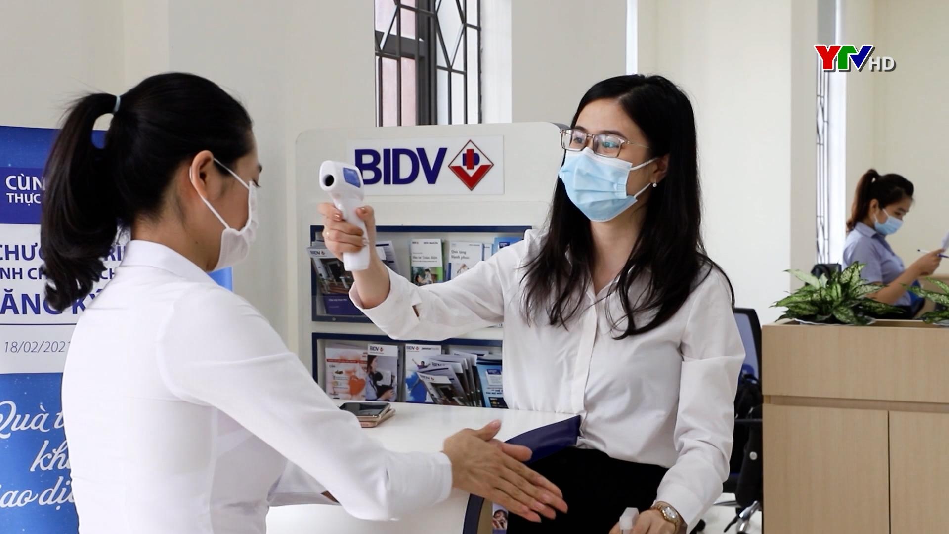 BIDV Yên Bái tăng cường phòng, chống dịch COVID – 19