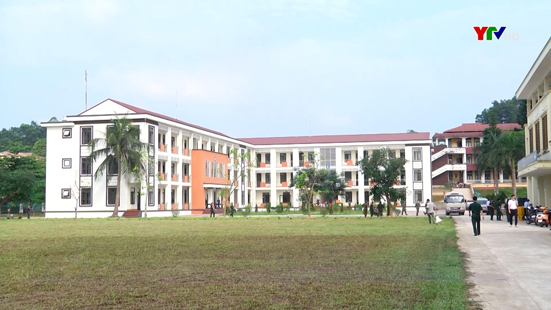 Kích hoạt khu cách ly phòng chống Covid-19 tại trường CĐSP Yên Bái