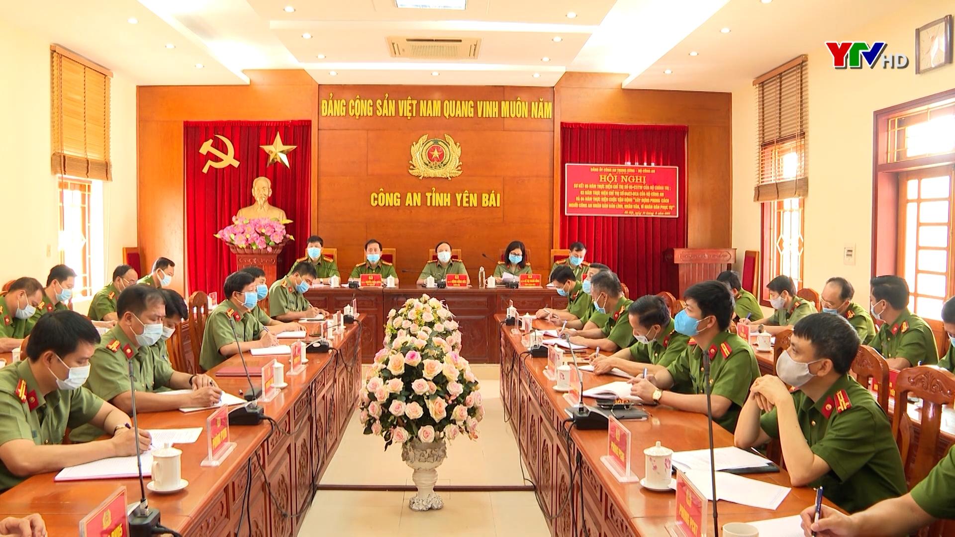 Cán bộ, chiến sỹ Công an nhân dân đẩy mạnh học tập và làm theo tư tưởng, đạo đức, phong cách Hồ Chí Minh