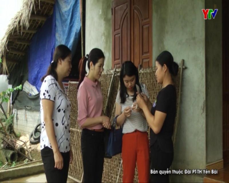 Hội Phụ nữ huyện Yên Bình học tập và làm theo lời Bác