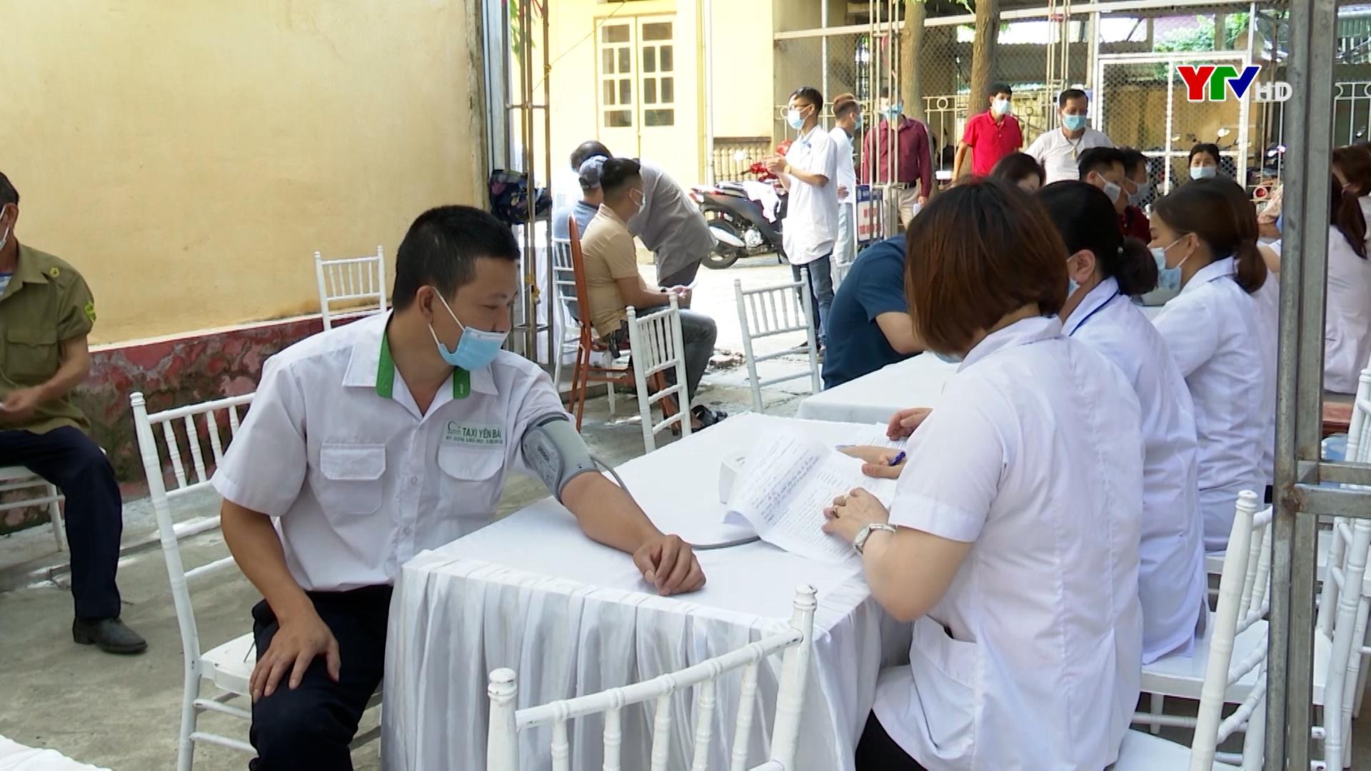 TP Yên Bái triển khai tiêm vaccine phòng chống COVID- 19 đảm bảo an toàn