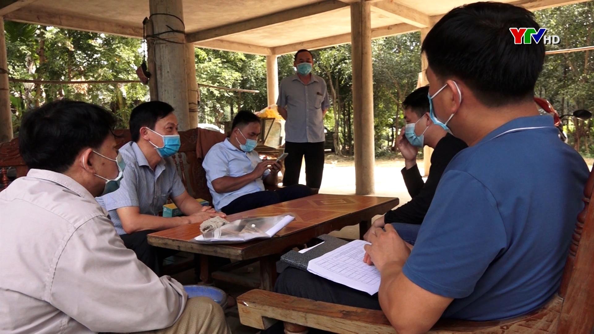 Huyện Lục Yên xử phạt 54 trường hợp vi phạm quy định về phòng, chống COVID – 19