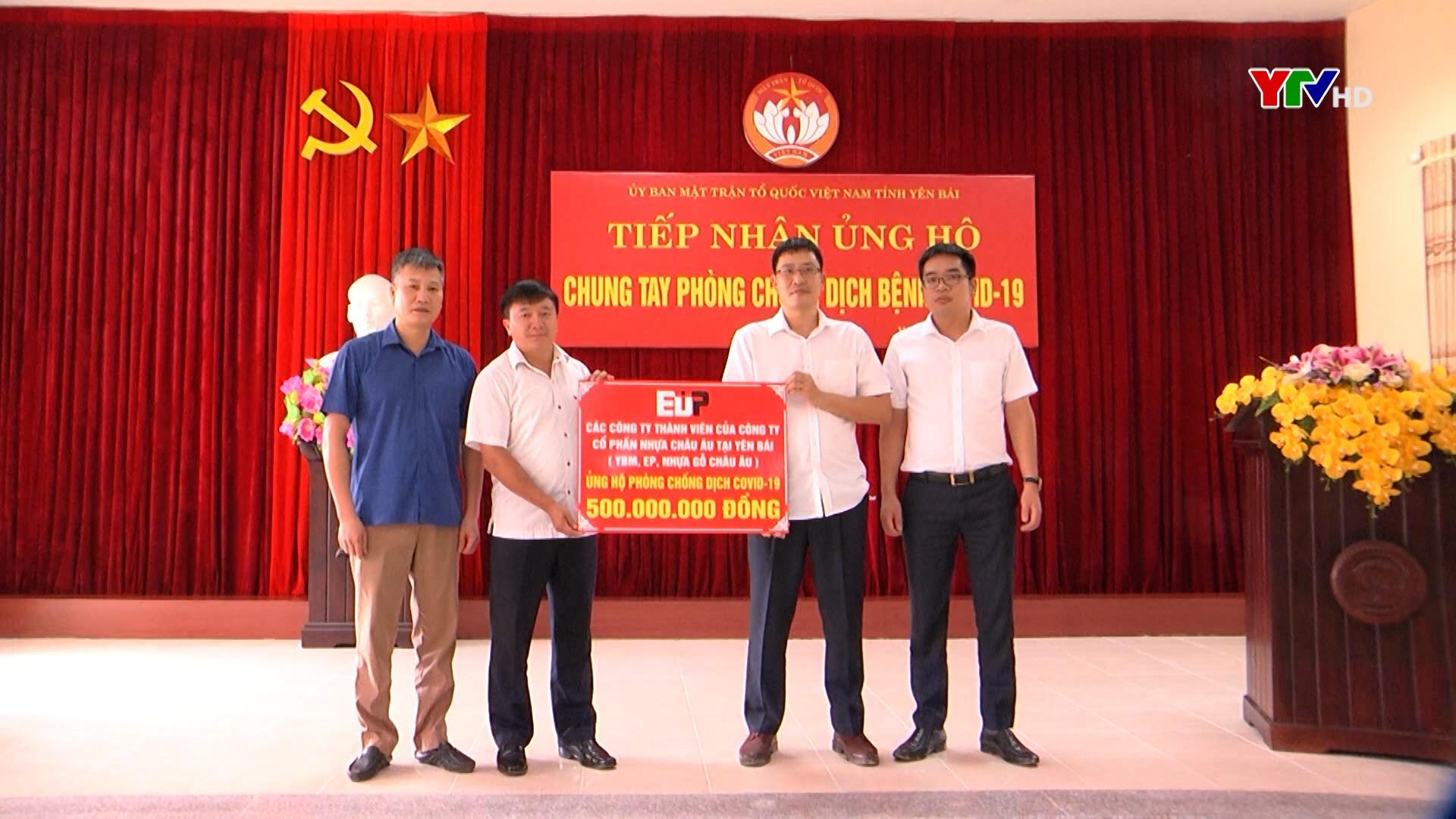 Ủy ban MTTQ tỉnh tiếp nhận 550 triệu đồng ủng hộ công tác phòng, chống COVID - 19