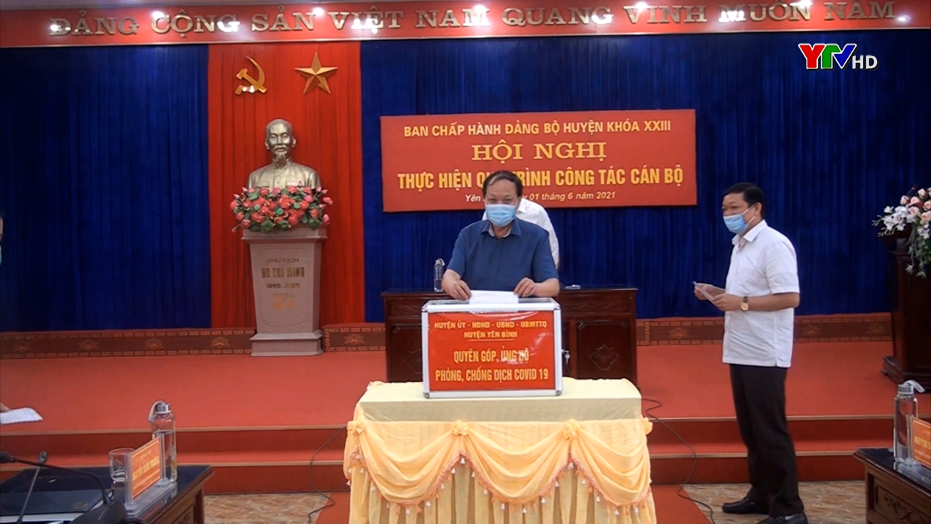 Huyện Yên Bình chung tay phòng, chống COVID – 19