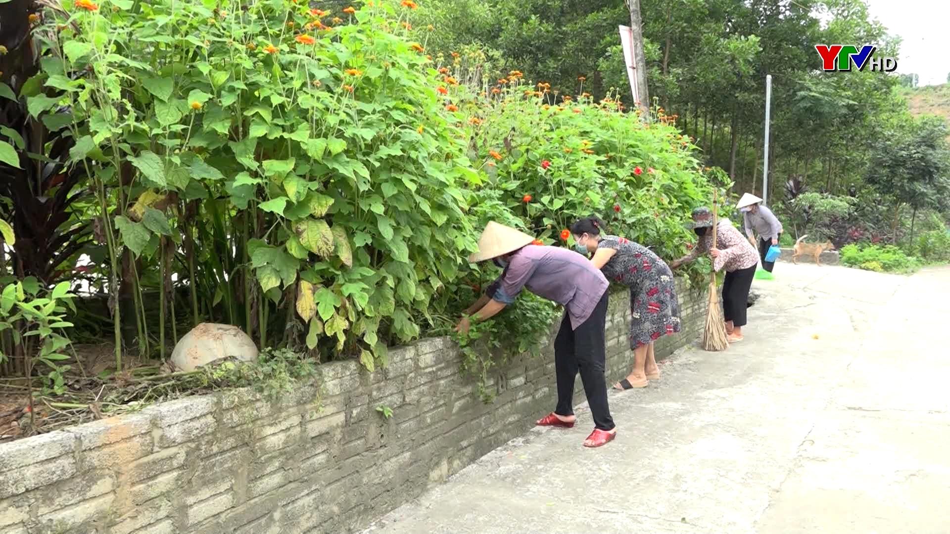 Các cấp hội phụ nữ TP Yên Bái tích cực xây dựng nông thôn mới và đô thị văn minh