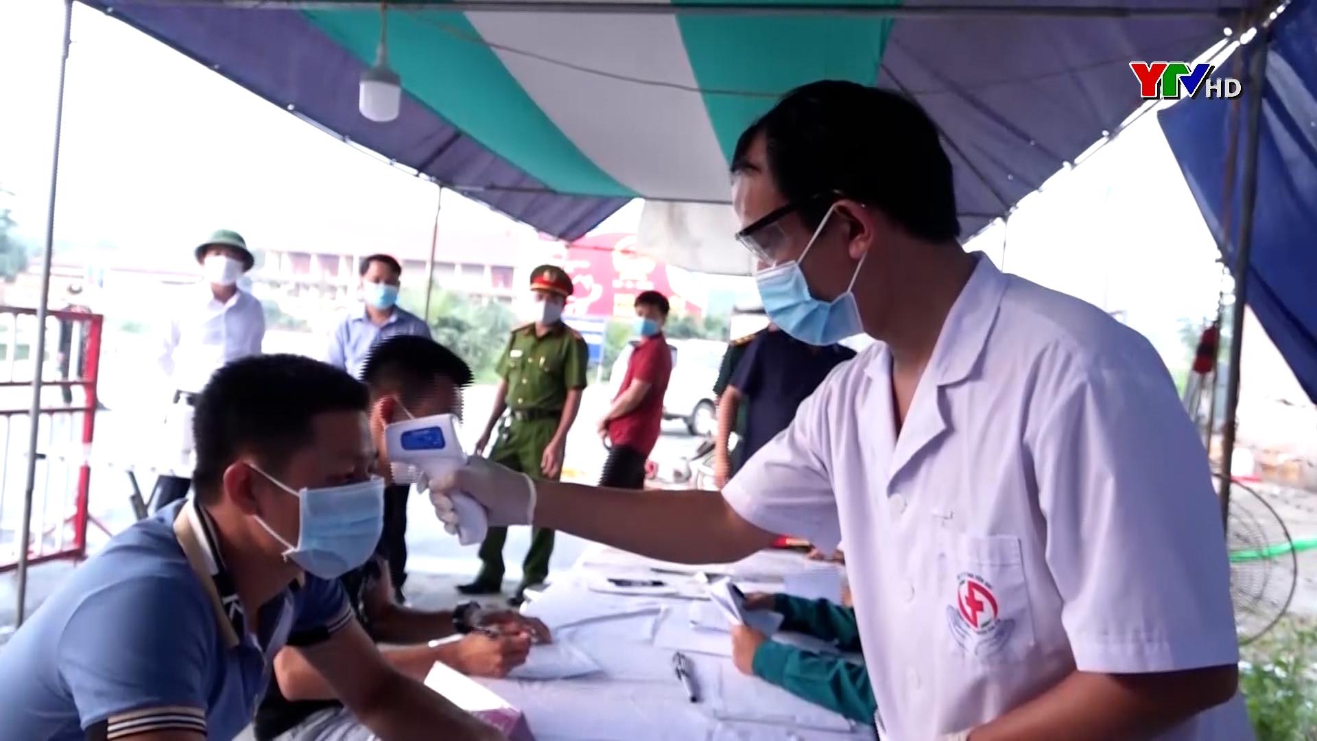 Huyện Văn Yên tăng cường các biện pháp phòng, chống dịch COVID – 19