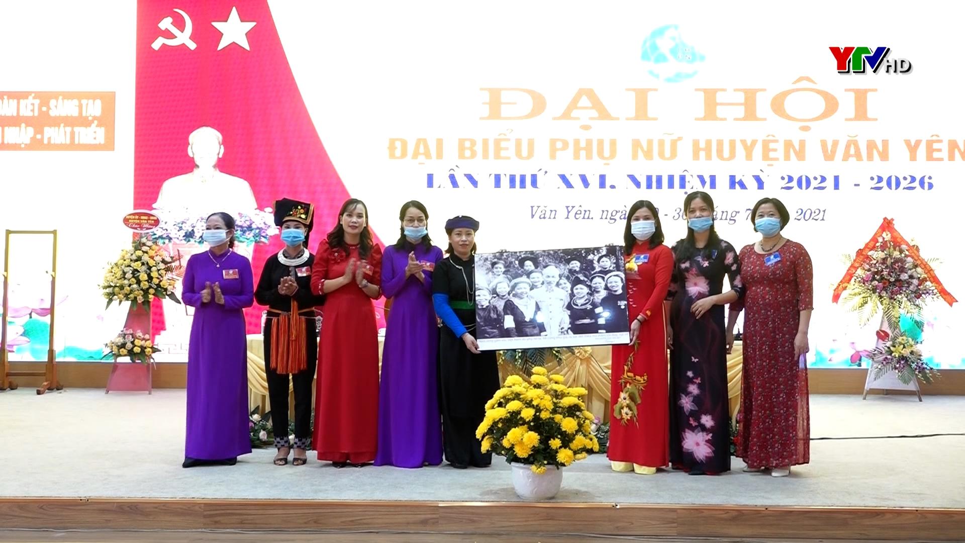 Hội Liên hiệp Phụ nữ huyện Văn Yên và huyện Trạm Tấu tổ chức thành công Đại hội đại biểu nhiệm kỳ 2021 – 2026