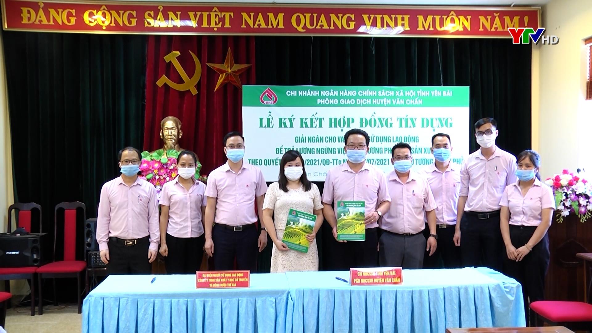 Doanh nghiệp đầu tiên của tỉnh Yên Bái được nhận hỗ trợ theo Nghị quyết 68 của Chính phủ