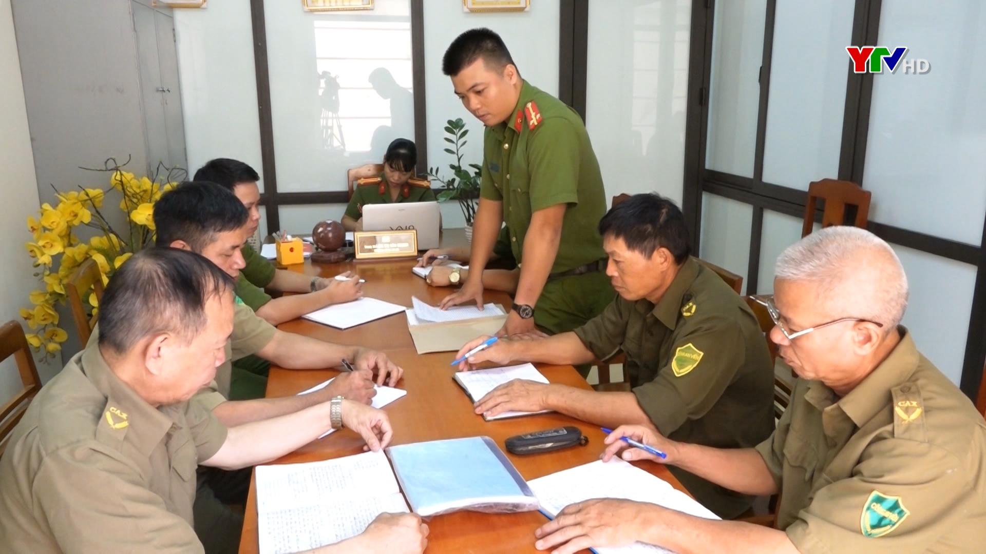 Hiệu quả từ việc đưa công an chính quy về đảm nhiệm các chức danh công an xã tại TP Yên Bái