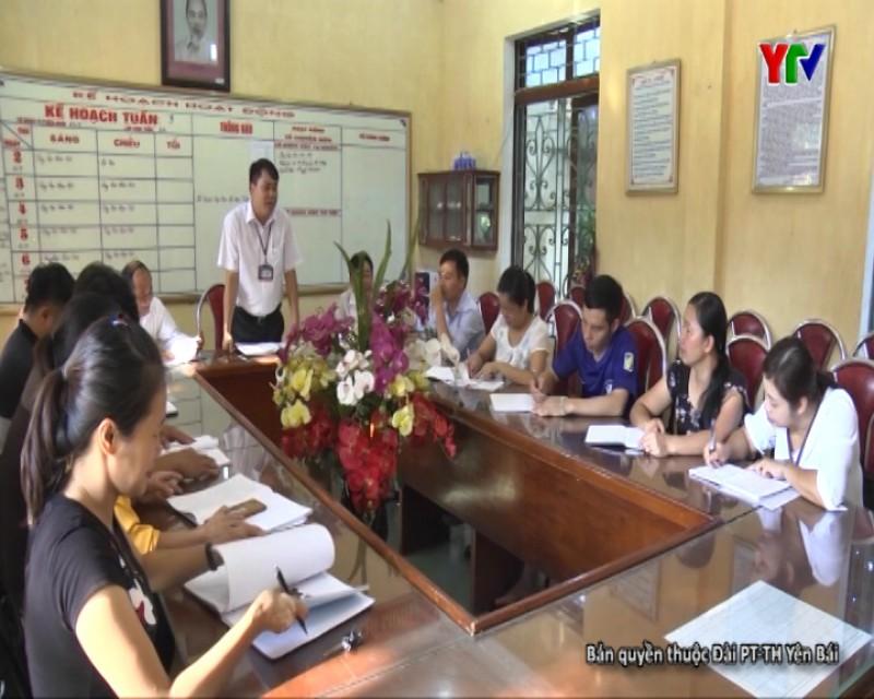 Công tác xây dựng trường chuẩn quốc gia tại huyện Lục Yên