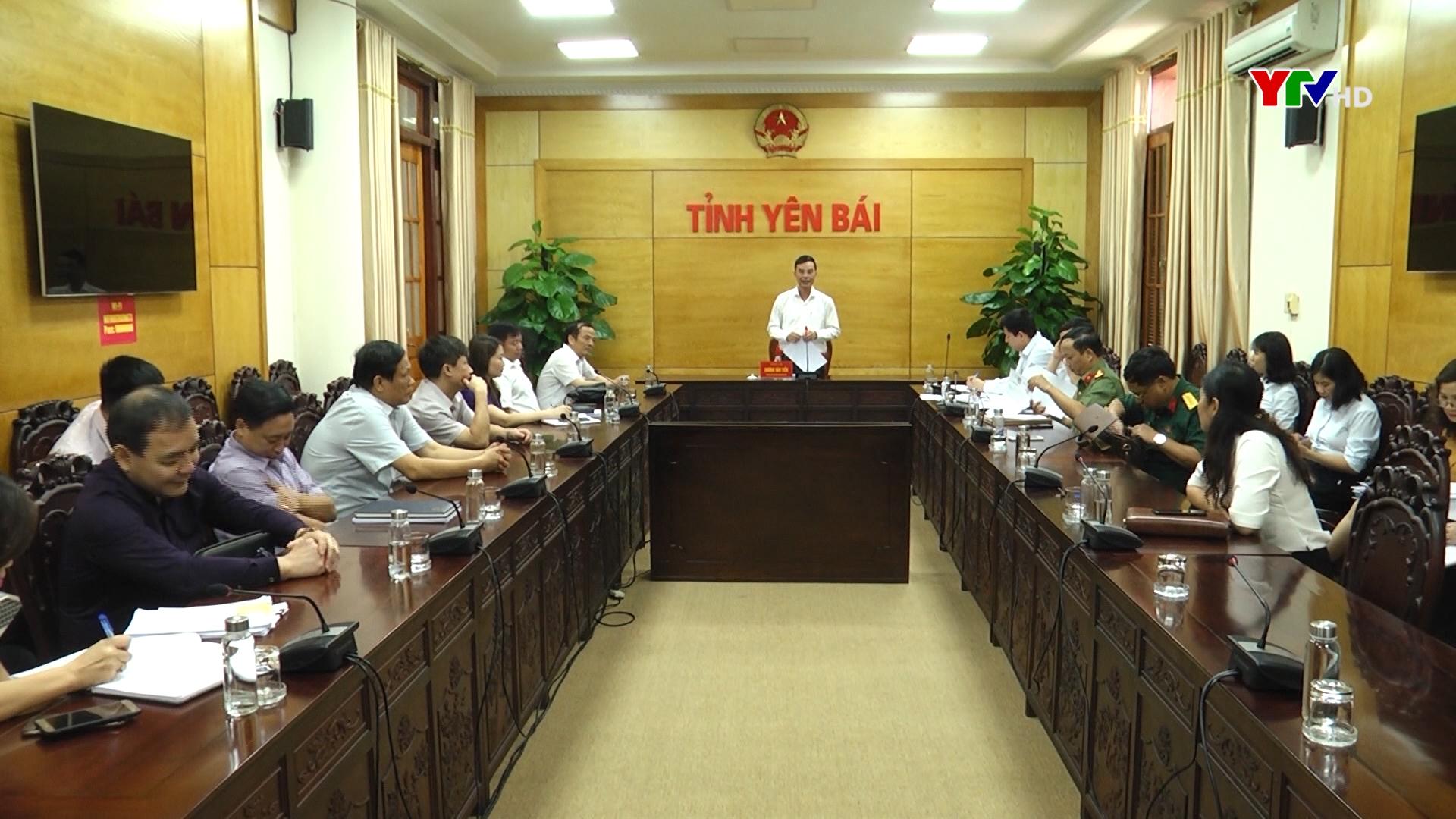 Hội đồng Thi đua khen thưởng tỉnh xét duyệt các hình thức khen thưởng bậc cao