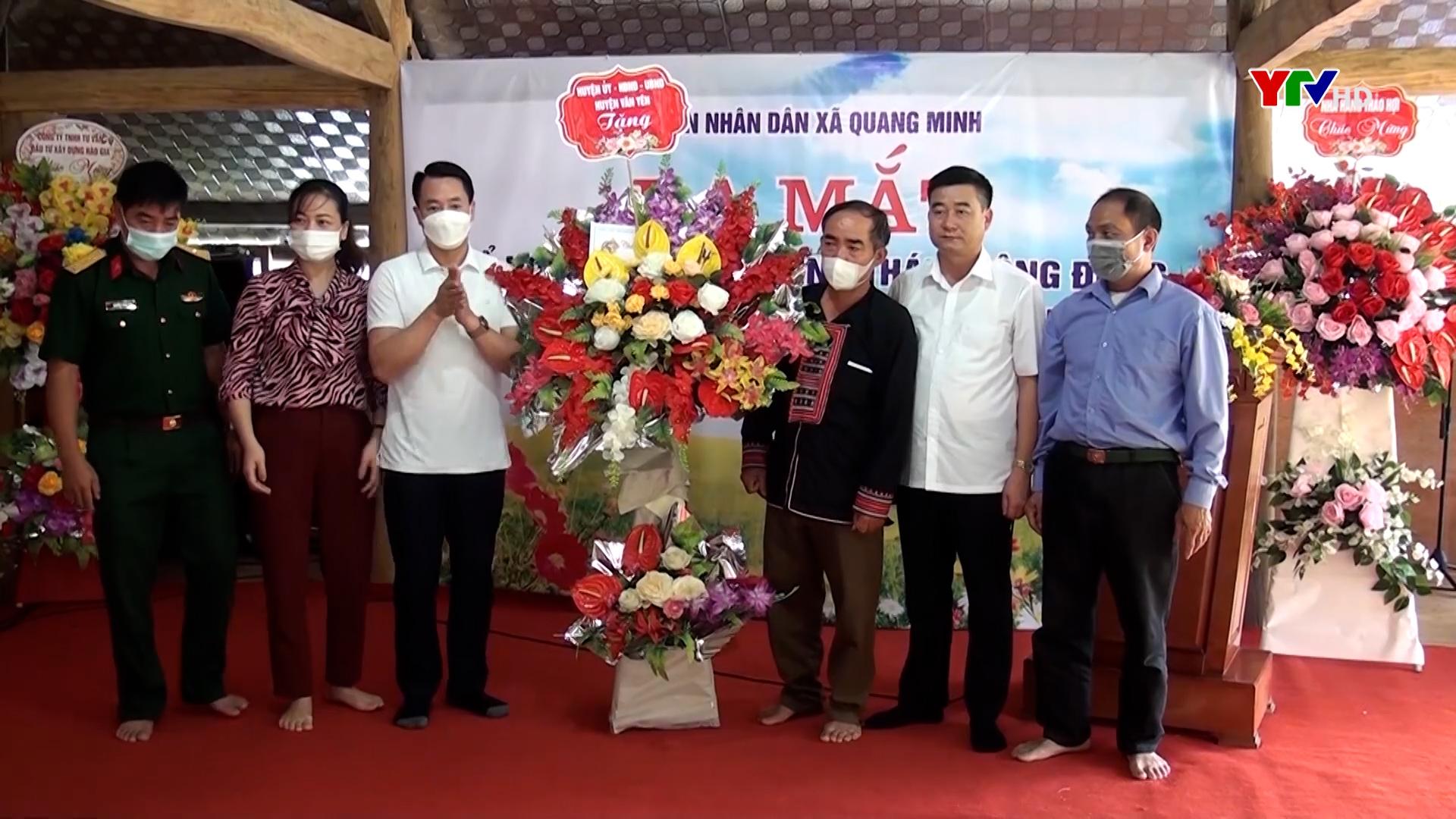 Xã Quang Minh, huyện Văn Yên ra mắt Tổ hợp tác du lịch sinh thái cộng đồng