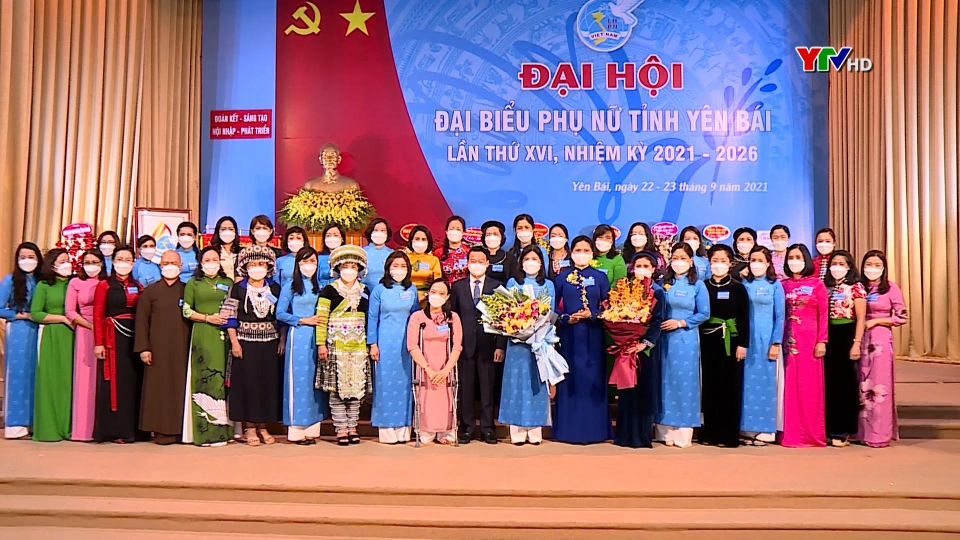 Đại hội đại biểu Phụ nữ tỉnh Yên Bái lần thứ XVI, nhiệm kỳ 2021-2026