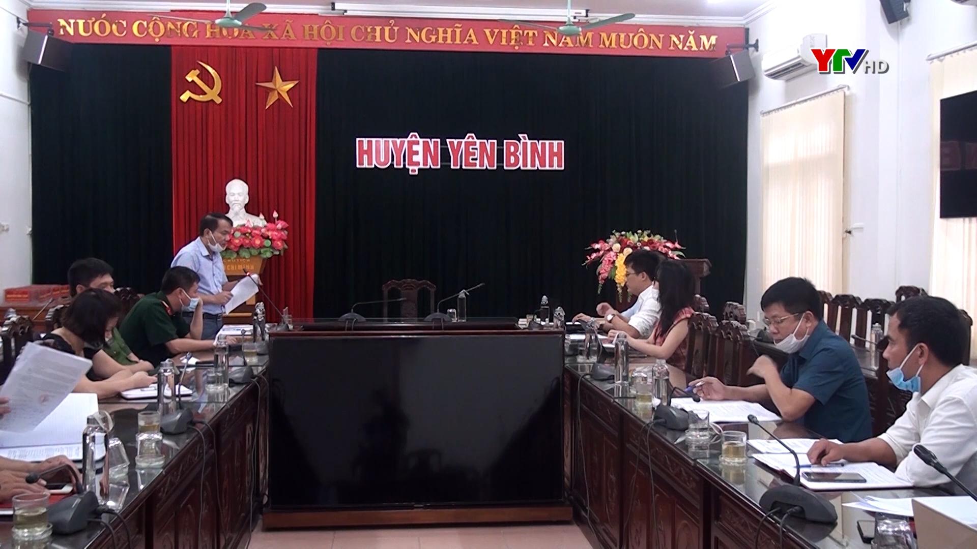 Khảo sát thu thập thông tin tại huyện Yên Bình phục vụ Quy hoạch tỉnh Yên Bái thời kỳ 2021 – 2030