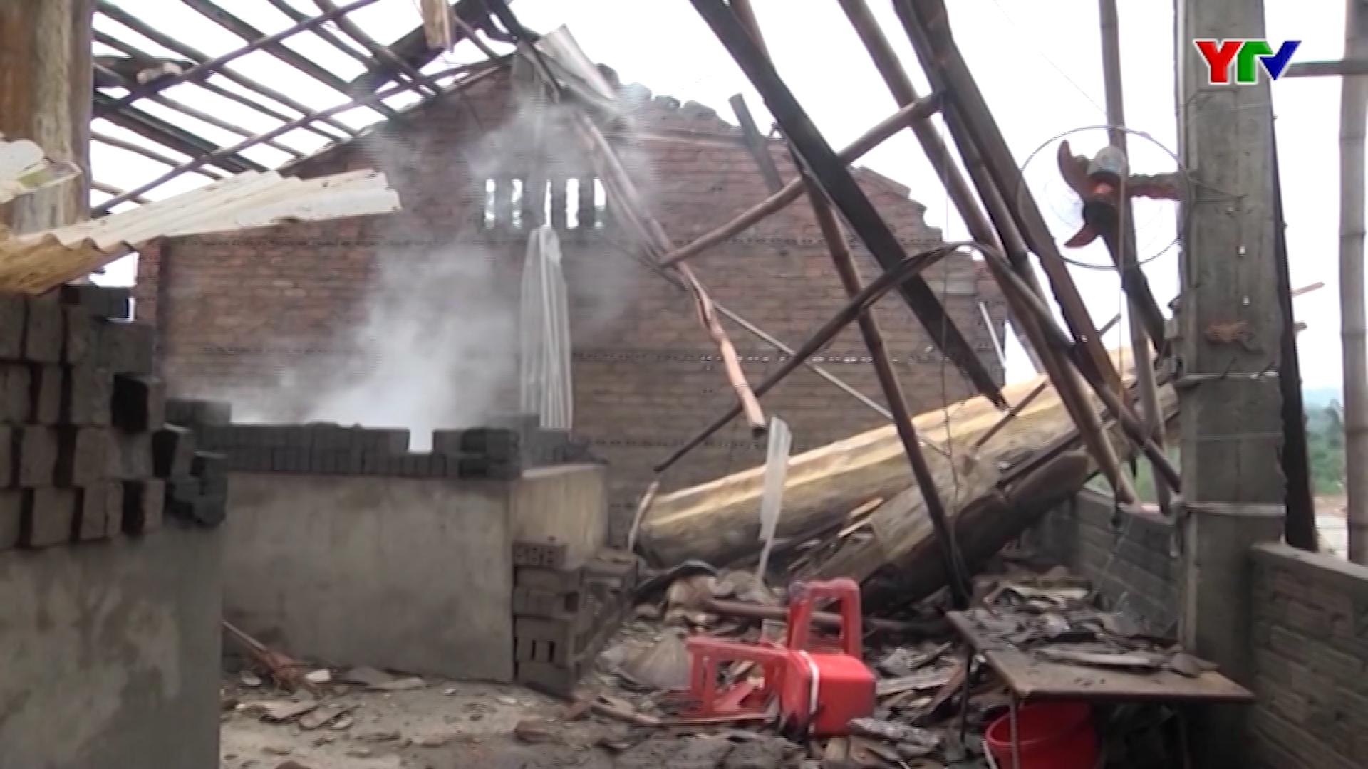 Tỉnh Yên Bái thiệt hại 105 tỷ đồng do thiên tai