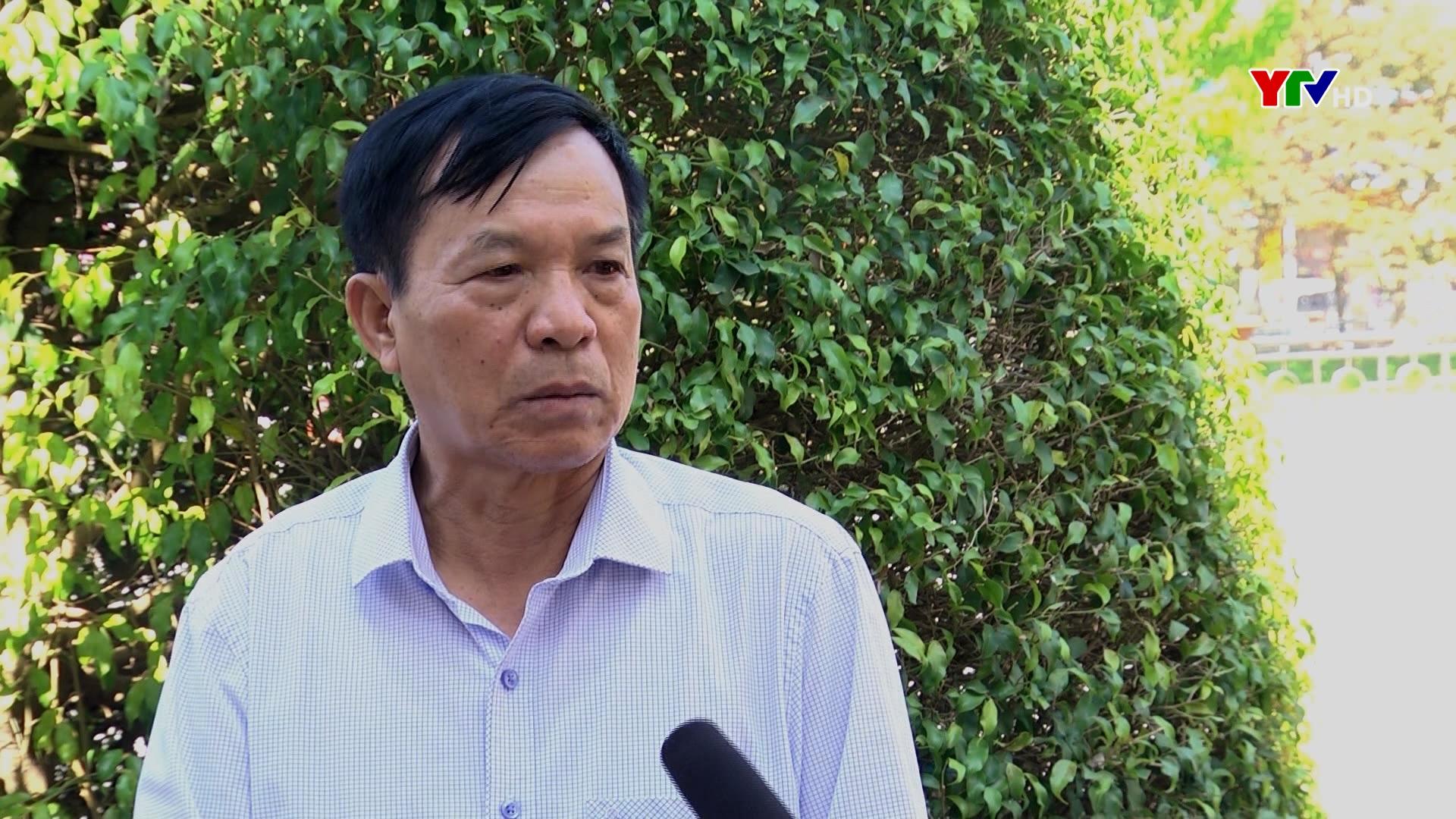 Cán bộ, đảng viên và nhân dân Yên Bái đóng góp ý kiến vào Dự thảo các văn kiện Đại hội XIII của Đảng