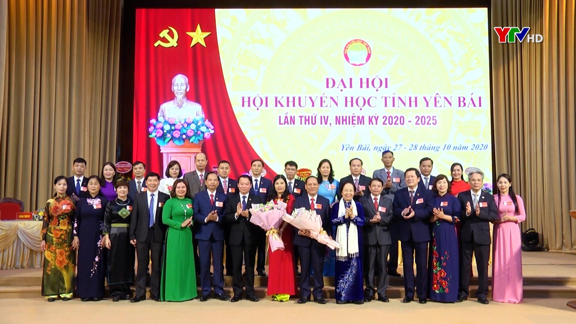 Hội Khuyến học tỉnh Yên Bái tổ chức thành công Đại hội lần thứ IV, nhiệm kỳ 2020-2025
