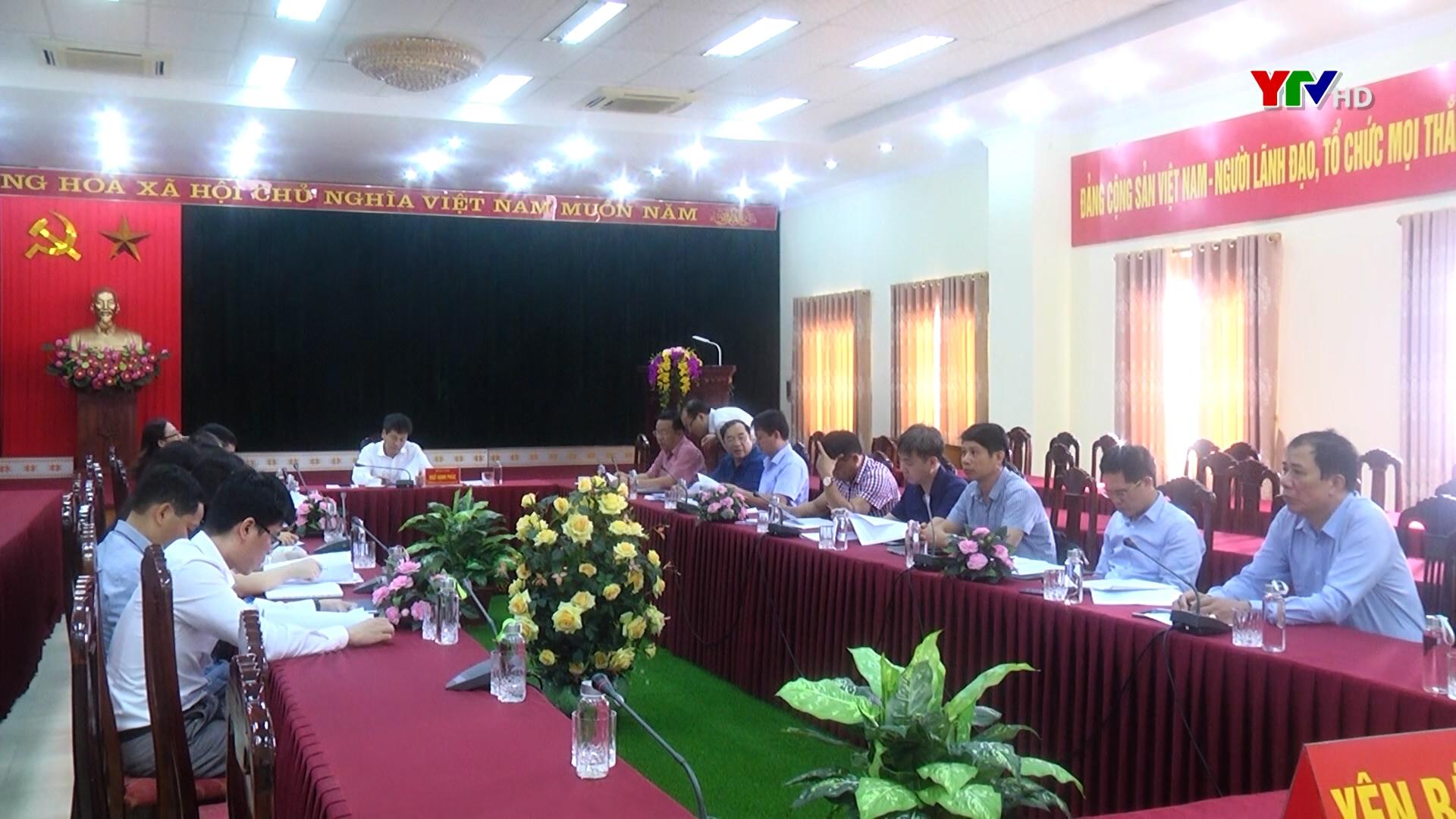 Tỉnh Yên Bái tham dự Hội nghị trực tuyến về giải ngân vốn vay WB năm 2020