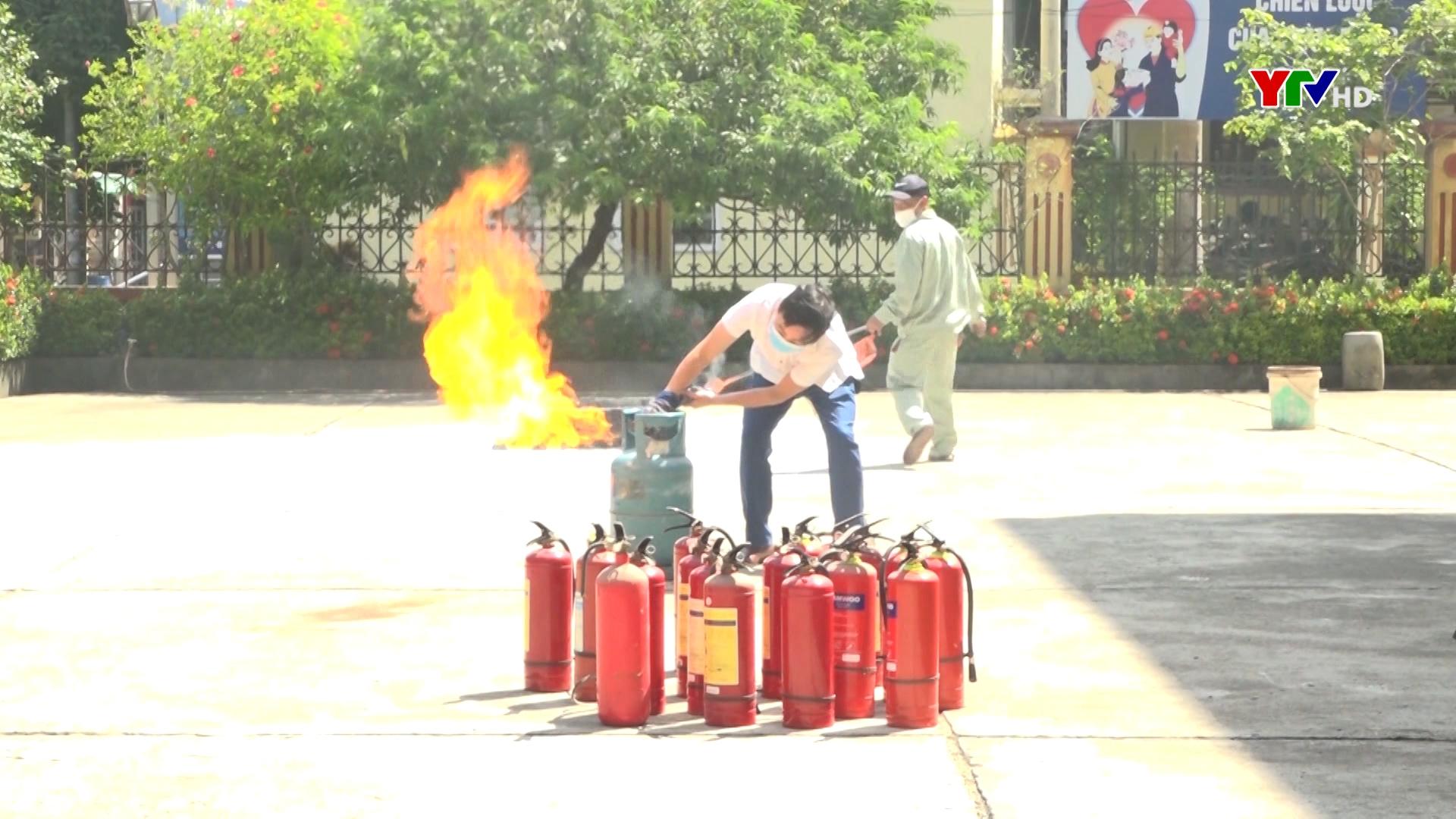 Tăng cường công tác phòng, chống cháy nổ tại các cơ quan, đơn vị