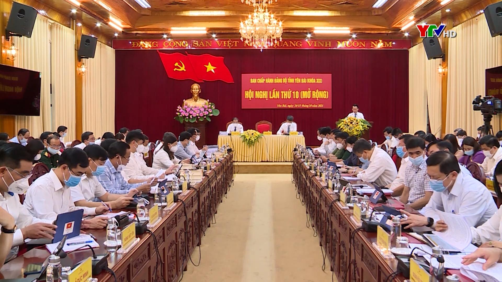 Khai mạc Hội nghị Ban Chấp hành Đảng bộ tỉnh Yên Bái lần thứ 10 ( mở rộng)