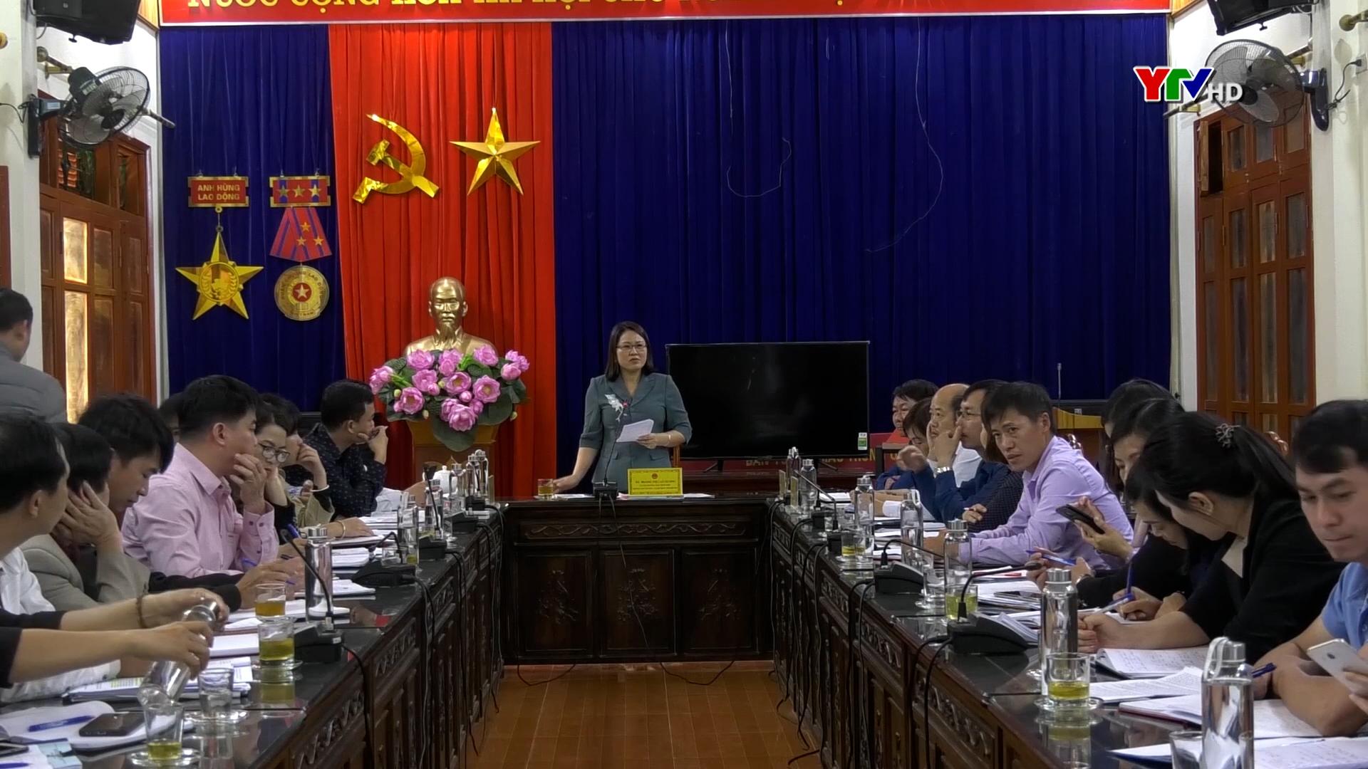 HĐND tỉnh giám sát tại huyện Mù Cang Chải