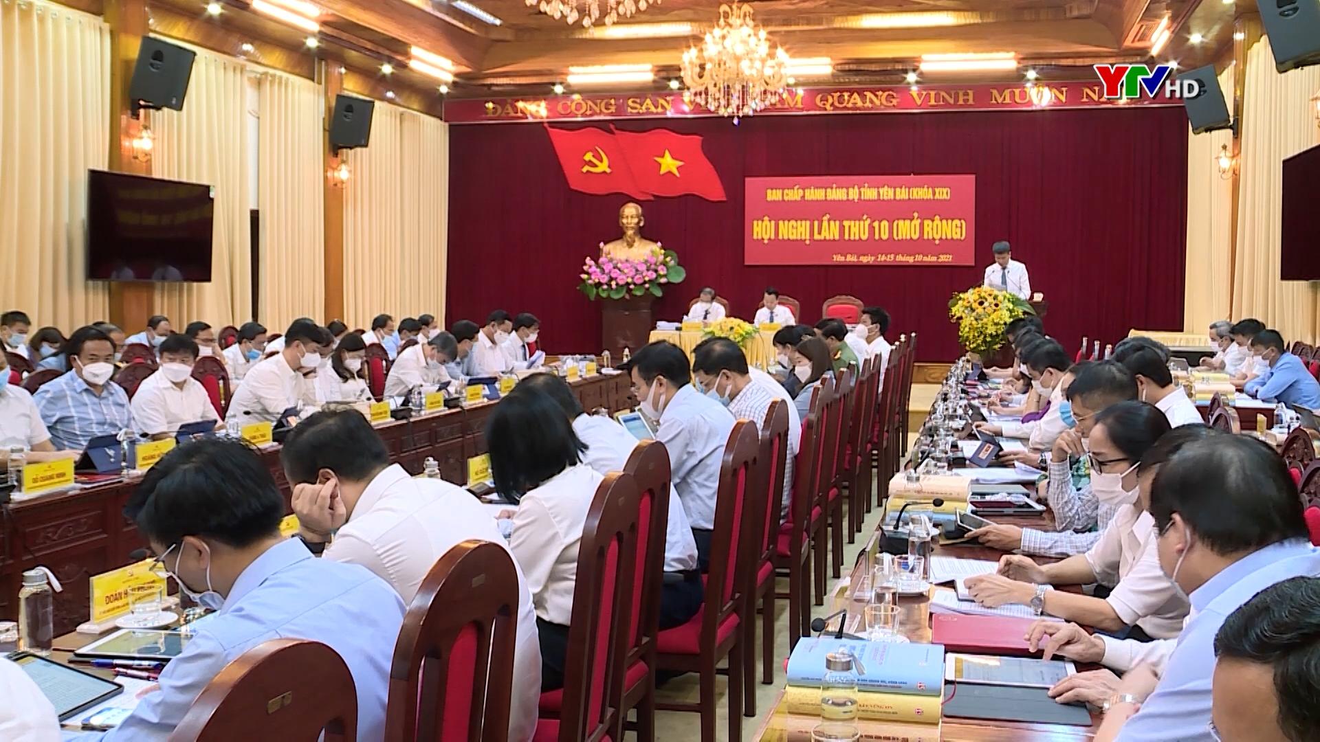 Ban Chấp hành Đảng bộ tỉnh đánh giá tình hình thực hiện nhiệm vụ 9 tháng năm 2021