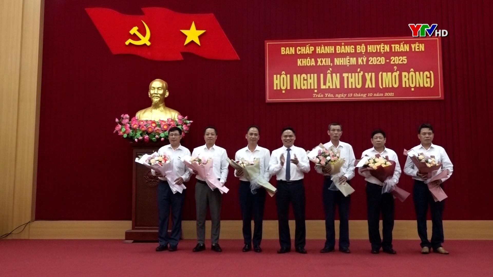 Ban Chấp hành Đảng bộ Thị xã Nghĩa Lộ và huyện Trấn Yên triển khai nhiệm vụ 3 tháng cuối năm 2021