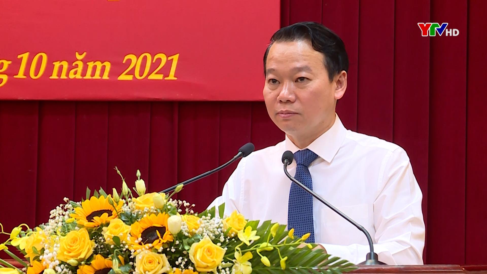 Toàn văn phát biểu Bế mạc Hội nghị Ban Chấp hành Đảng bộ tỉnh Yên Bái lần thứ 10 ( mở rộng) của đồng chí Bí thư Tỉnh ủy Đỗ Đức Duy