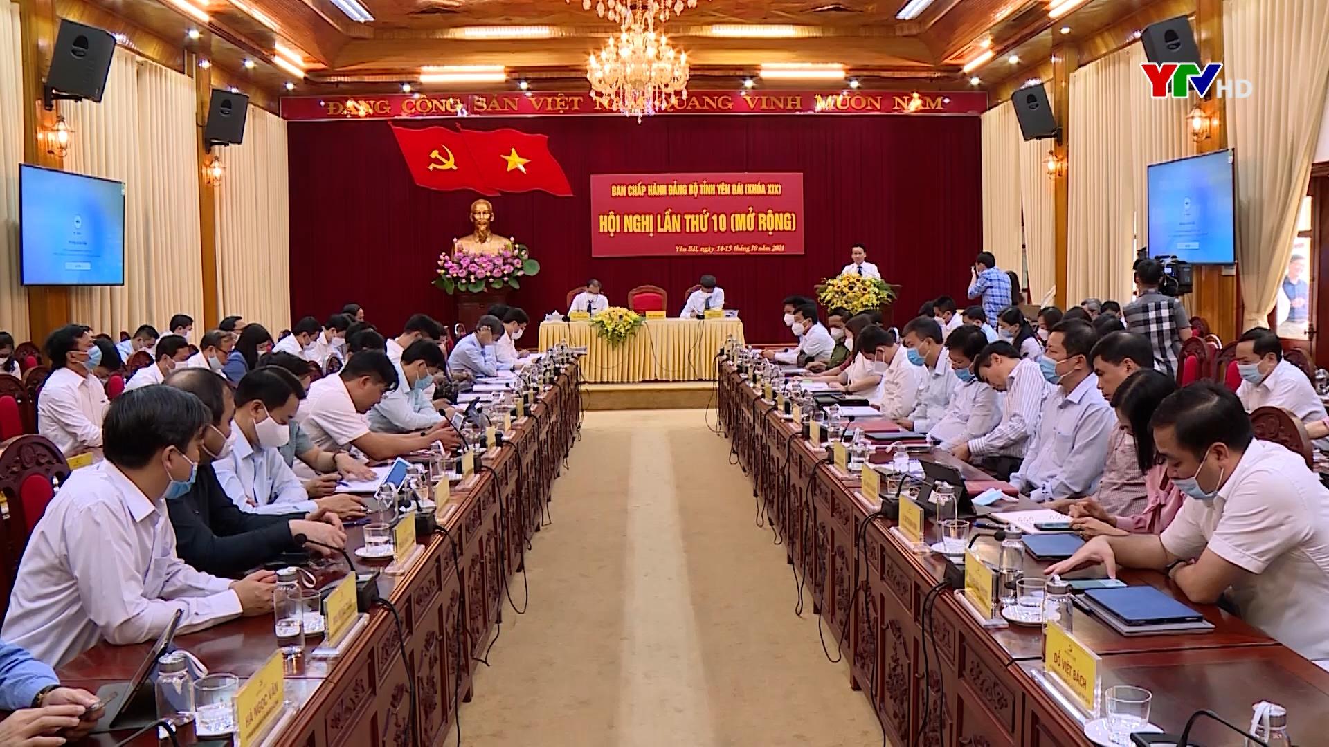 Hội nghị Ban Chấp hành Đảng bộ tỉnh lần thứ 10 (mở rộng) thành công tốt đẹp