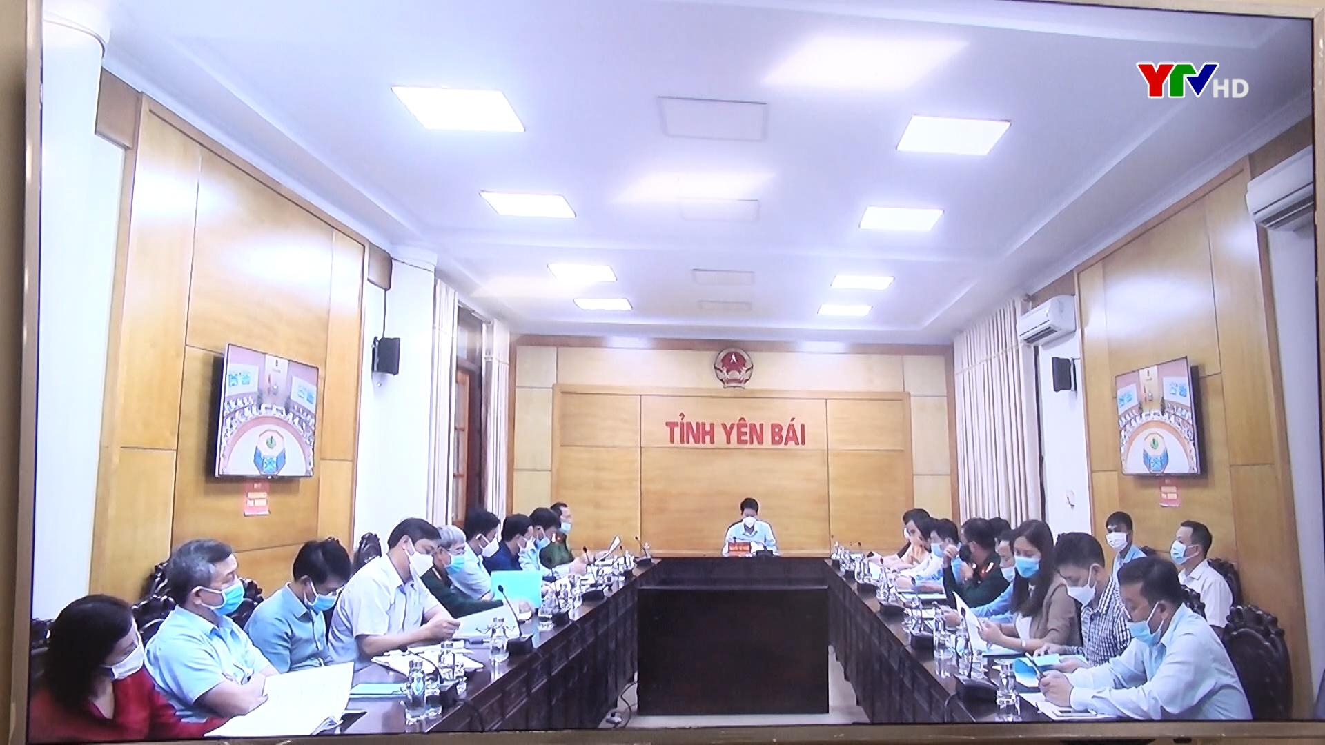 Tỉnh Yên Bái dự Hội nghị trực tuyến triển khai nhiệm vụ đảm bảo trật tự ATGT quý 4/2021