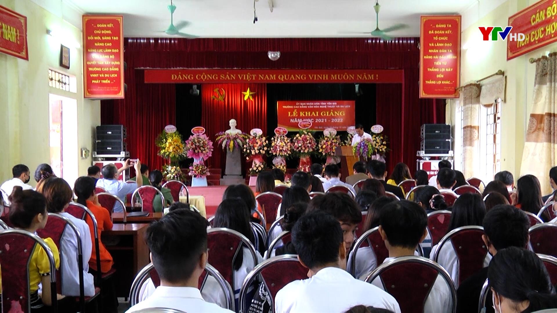 Trường Cao đẳng Văn hóa nghệ thuật và Du lịch Yên Bái khai giảng năm học mới
